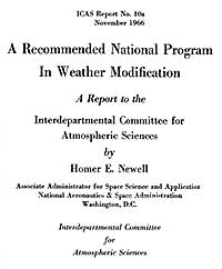 1966 Weather Modification Program