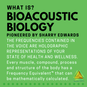 What is Bioacoustic Biology